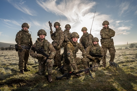 Range of work undertaken for The Yorkshire Regiment